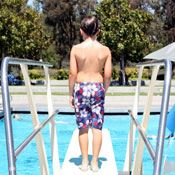 Child on the Diving Board